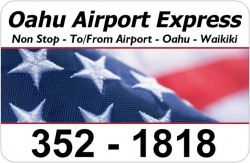 oahu airport shuttle logo
